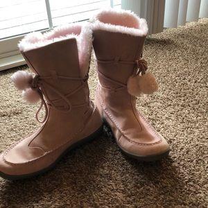 Pink/Light  Airwalk Leather Boots